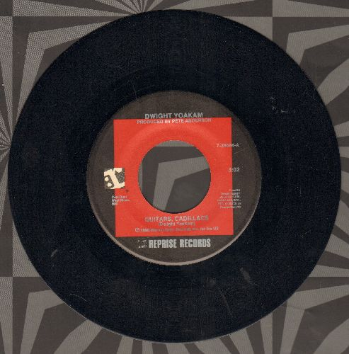 Yoakam, Dwight - Guitars, Cadillacs/I'll Be Gone - M10/ - 45 rpm Records