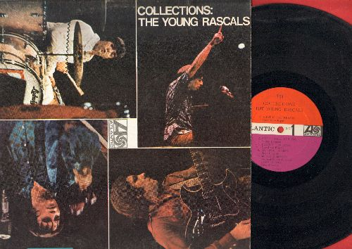 Young Rascals - Collections: What Is The Reason, Land Of 1000 Dances, Too Many Fish In The Sea, More, Come On Up (vinyl MONO LP record) - VG7/EX8 - LP Records