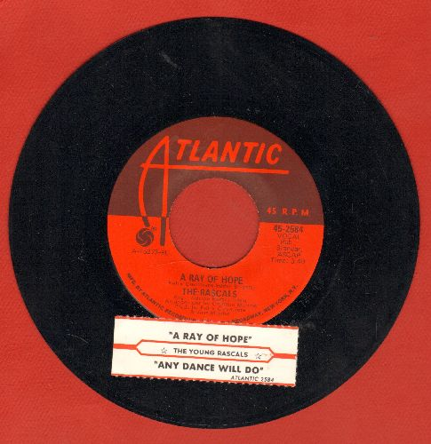Rascals - A Ray Of Hope/Any Dance;ll Do! (with juke box label) - NM9/ - 45 rpm Records