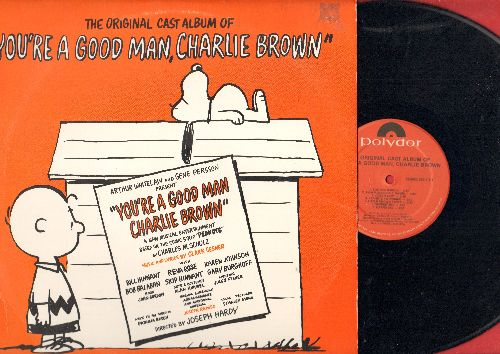 Original Cast - You're A Good Man, Charlie Brown - Original cast Album (vinyl STEREO LP record) - NM9/EX8 - LP Records