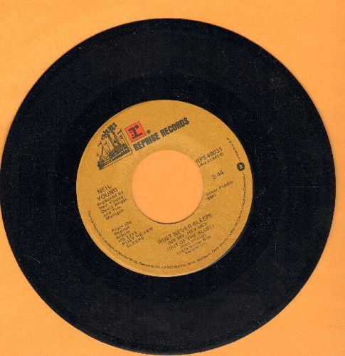 Young, Neil & Crazy Horse - Rust Never Sleeps My My, Hey Hey Out Of The Blue) - NM9/ - 45 rpm Records