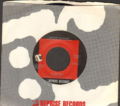 Yoakam, Dwight - It Won't Hurt/Bury Me (duet with Maria McKee) (with Reprise company sleeve) - M10/ - 45 rpm Records