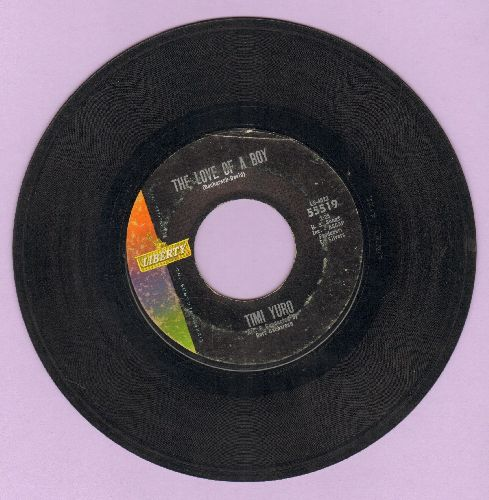 Yuro, Timi - The Love Of A Boy/I Ain't Gonna Cry No More - VG7/ - 45 rpm Records