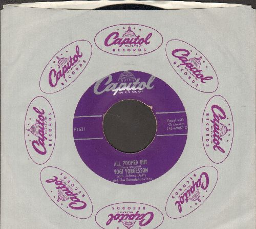 Yorgesson, Yogi - A Letter To Harry/All Pooped Out (with Capitol company sleeve) - EX8/ - 45 rpm Records