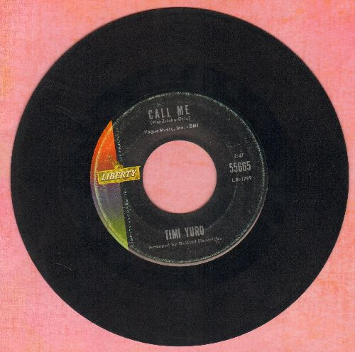 Yuro, Timi - Call Me/Permanently Lonely - VG7/ - 45 rpm Records