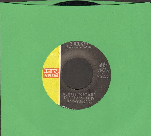 Yost, Dennis & The Classics IV - Midnight/The Comic - EX8/ - 45 rpm Records