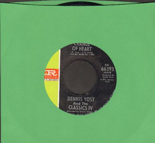 Yost, Dennis & The Classics IV - Change Of Heart/Rainy Day - EX8/ - 45 rpm Records