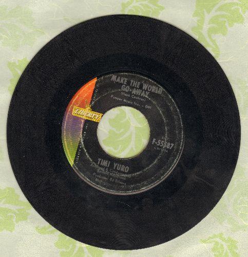 Yuro, Timi - Make The World Go Away/Look Down - VG7/ - 45 rpm Records