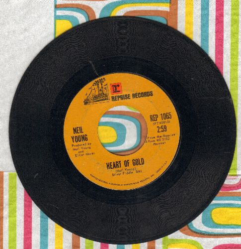 Young, Neil - Heart Of Gold/Sugar Mountain  - G5/ - 45 rpm Records