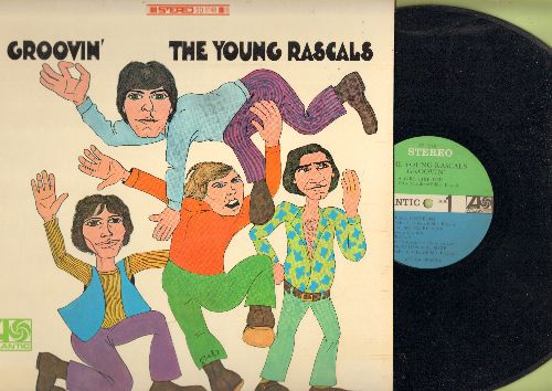 Young Rascals - Groovin': A Girl Like You, How Can I Be Sure, You Better Run, A Place In The Sun (Vinyl STEREO LP record) - NM9/NM9 - LP Records