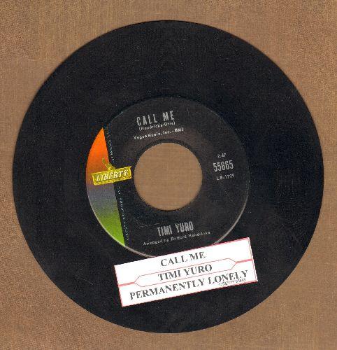 Yuro, Timi - Hurt/I Apologize (with juke box label) - VG7/ - 45 rpm Records