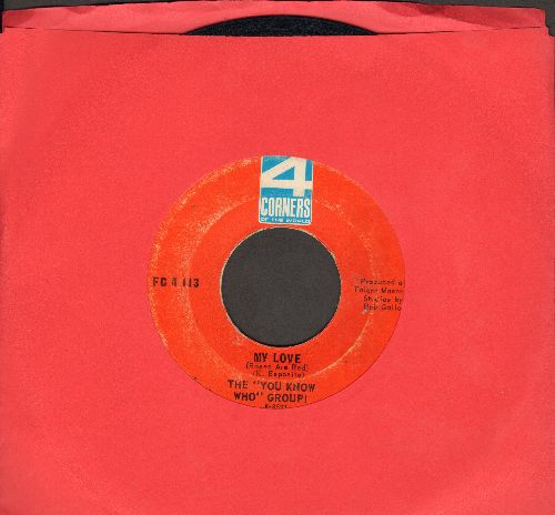 You Know Who Group - My Love/Playboy (with RARE 4 Corners company sleeve) - EX8/ - 45 rpm Records