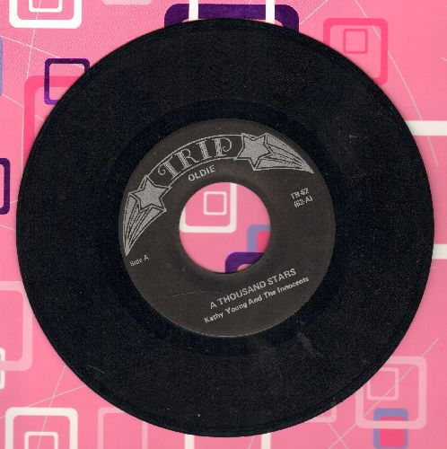 Young, Kathy & The Innovents - A Thousand Stars/Gee Whiz (early double-hit re-issue) - NM9/ - 45 rpm Records