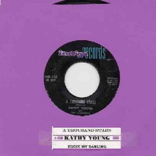 Young, Kathy - A Thousand Stars/Eddie My Darling (with jukebox label) - VG7/ - 45 rpm Records