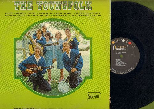 Youngfolk - The Youngfolk: They Call The Wind Maria, Come Judgement Day, Barney Oldfield, Mighty Days, Little Pills (Vinyl MONO LP record) - NM9/VG7 - LP Records