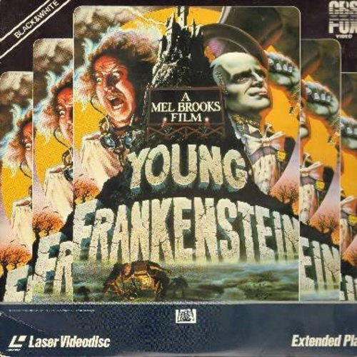 Young Frankenstein - Young Frankenstein - The 1974 Mel Brooks Comedy Classic - This is a LASERDISC, NOT ANY OTHER KIND OF MEDIA! - EX8/EX8 - LaserDiscs