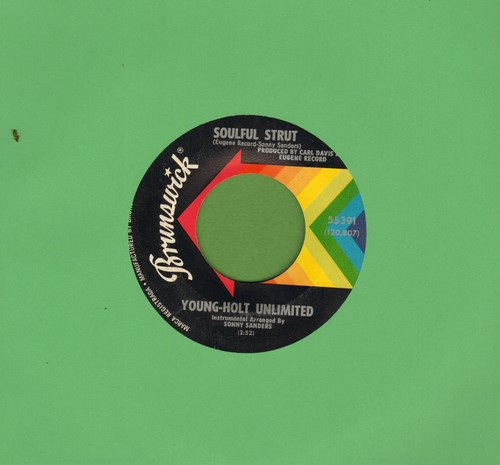 Young-Holt Unlimited - Soulful Strut/Country Slicker Joe  - EX8/ - 45 rpm Records