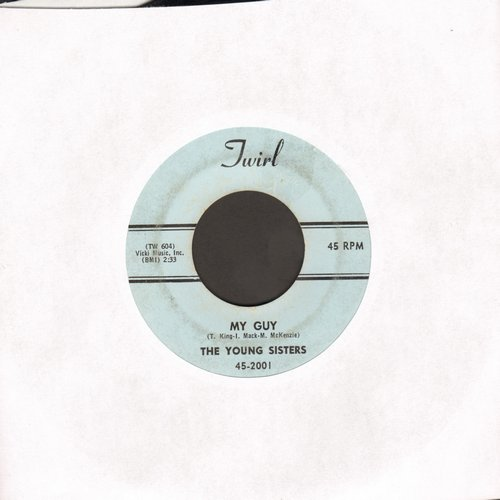 Young Sisters - My Guy/Casanova Brown  - VG7/ - 45 rpm Records
