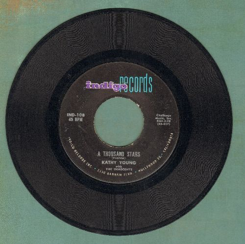 Young, Kathy - A Thousand Stars/Eddie My Darling  - VG6/ - 45 rpm Records