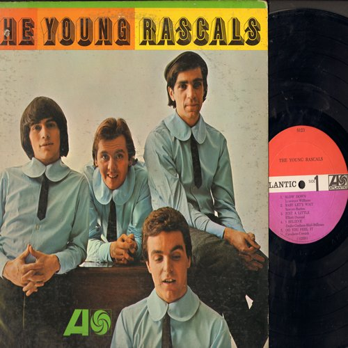 Young Rascals - The Young Rascals: Good Lovin', Baby Let's Wait, Like A Rolling Stone, Mustang Sally, In The Midnight Hour (vinyl MONO LP record) - VG7/VG7 - LP Records