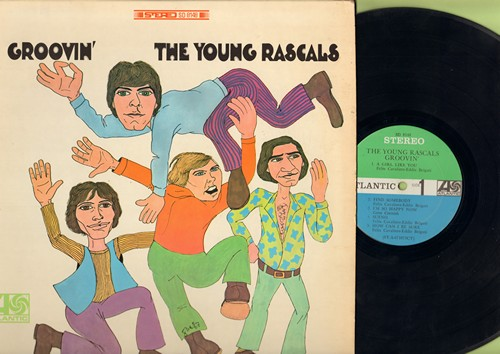 Young Rascals - Groovin': A Girl Like You, How Can I Be Sure, You Better Run, A Place In The Sun (Vinyl STEREO LP record) - EX8/VG7 - LP Records