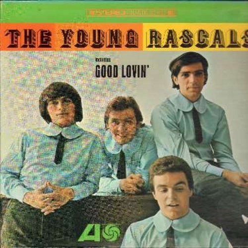 Young Rascals - The Young Rascals: Good Lovin', Baby Let's Wait, Like A Rolling Stone, Mustang Sally, In The Midnight Hour (Vinyl STEREO LP record) - EX8/VG6 - LP Records