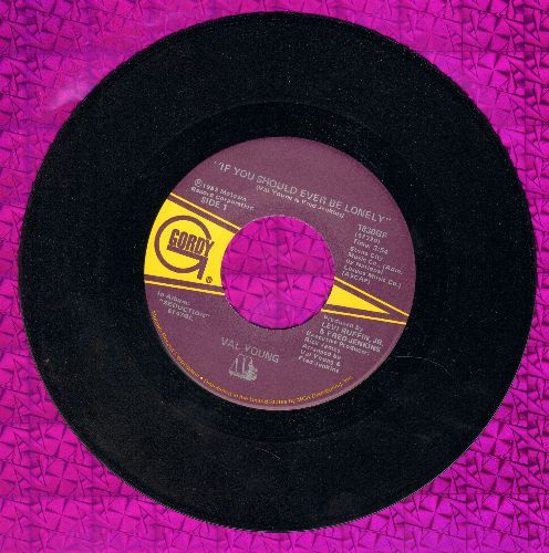 Young, Val - If You Should Ever Be Lonely/If You Should Ever Be Lonely - NM9/ - 45 rpm Records