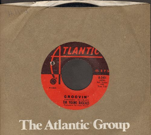 Young Rascals - Groovin' (On A Sunday Afternoon)/Sueno (bb) - VG7/ - 45 rpm Records