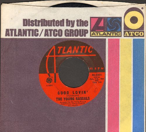 Young Rascals - Good Lovin'/Mustang Sally (with Atlantic company sleeve) - EX8/ - 45 rpm Records