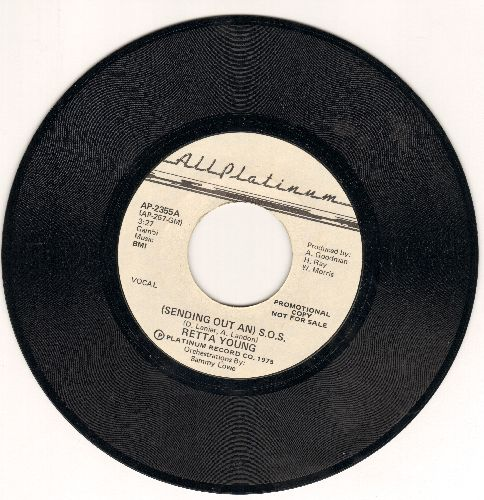 Young, Retta - (Sending Out An) S.O.S. (double-A-sided DJ advance pressing) - M10/ - 45 rpm Records