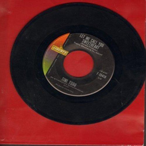 Yuro, Timi - Let Me Call You Sweetheart/Satan Never Sleeps - EX8/ - 45 rpm Records