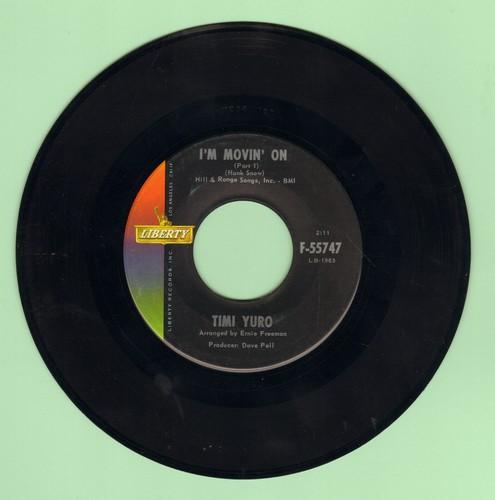 Yuro, Timi - I'm Movin' On (Parts 1 + 2) - NM9/ - 45 rpm Records