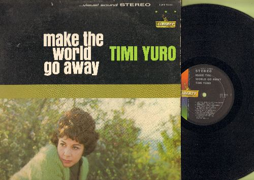 Yuro, Timi - Make The World Go Away: She's Got You, I Walk The Line, Leavin' On Your Mind (Vinyl STEREO LP record) - EX8/EX8 - LP Records