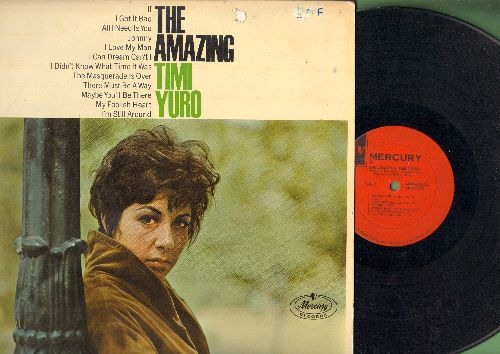 Yuro, Timi - The Amazing Timi Yuro: The Masquerade Is Over, I Didn't Know What Time It Was, Johnny, My Folish Heart, If (Vinyl MONO LP record) - VG7/VG7 - LP Records