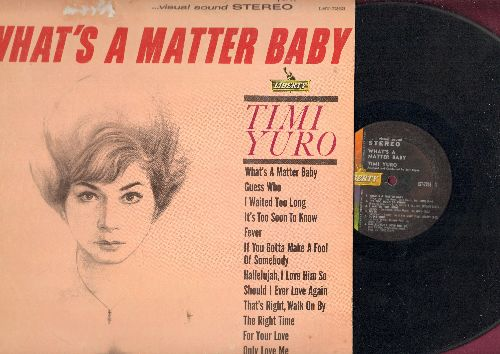 Yuro, Timi - What's A Matter Baby: Guess Who, Fever, For Your Love, It's Too Soon To Know (Vinyl STEREO LP record, NICE condition!) - VG7/VG7 - LP Records