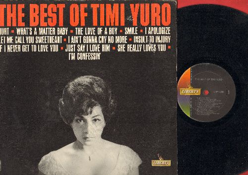 Yuro, Timi - The Best Of: Hurt, What's A Matter Baby, Smile, Insult To Injury, She Really Loves You (Vinyl MONO LP record) - VG7/VG6 - LP Records