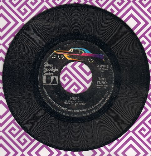 Yuro, Timi - Hurt/What's A Matter Baby (Is It Hurting You?) (re-issue) - EX8/ - 45 rpm Records