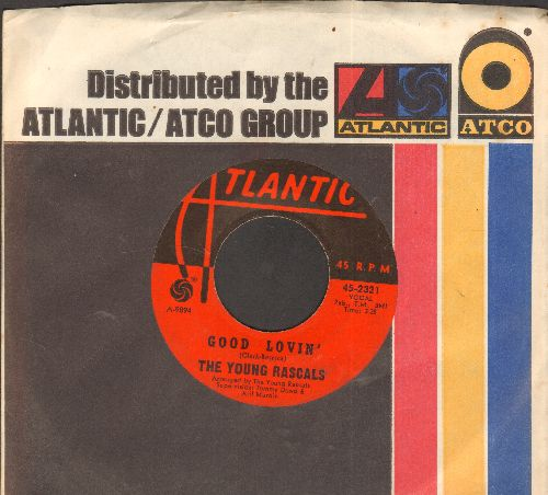 Young Rascals - Good Lovin'/Mustang Sally (with company sleeve) - EX8/ - 45 rpm Records