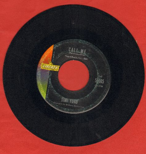 Yuro, Timi - Call Me/Permanently Lonely - EX8/ - 45 rpm Records