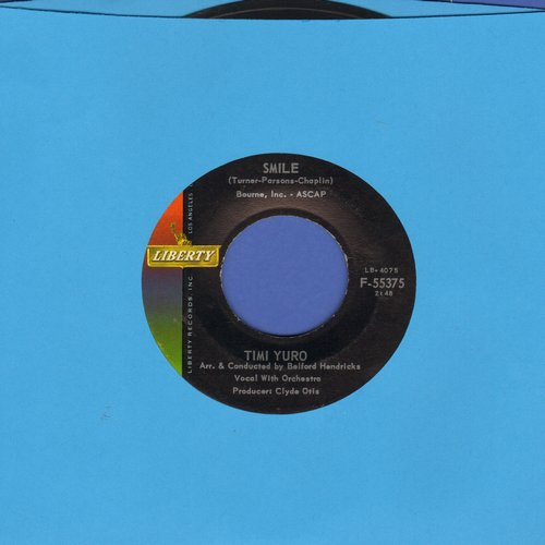 Yuro, Timi - She Really Loves You/Smile  - VG7/ - 45 rpm Records
