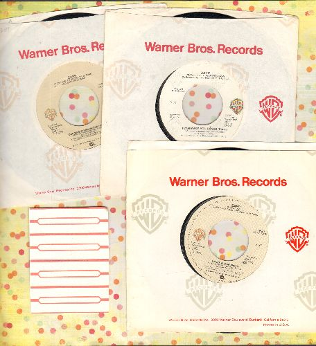 Zapp - 3-Pack of first pressings with Warner Brothers company sleeves. Hits include I Can Make You Dance (Parts 1 + 2)/Doo Wa Ditty (Blow That Thing)/Dance Floor (Parts 1 + 2). With 4 blank juke box labels. - NM9/ - 45 rpm Records