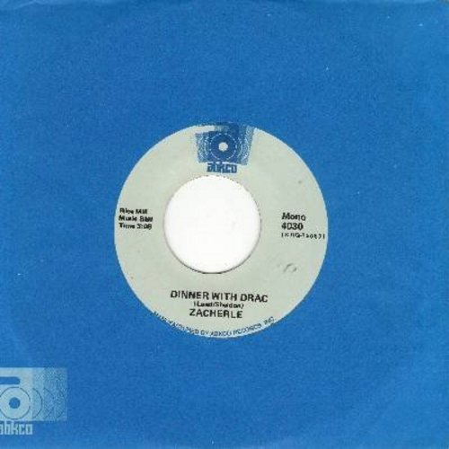 Zacherle, John - Dinner With Drac/Monster Mash (early double-hit re-issue with RARE Abkco company sleeve) - NM9/ - 45 rpm Records