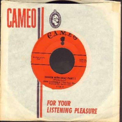 Zacherle, John - Dinner With Drac (Parts 1+2) (with RARE Cameo company sleeve) - EX8/ - 45 rpm Records