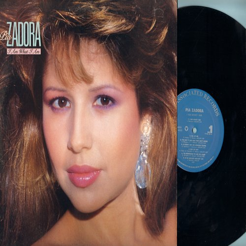 Zadora, Pia - I Am What I Am: All Of Me, Pennies From Heaven, The Lady Is A Tramp, It's Been A Long Long Time (Vinyl STEREO LP record, DJ advance pressing) - NM9/NM9 - LP Records