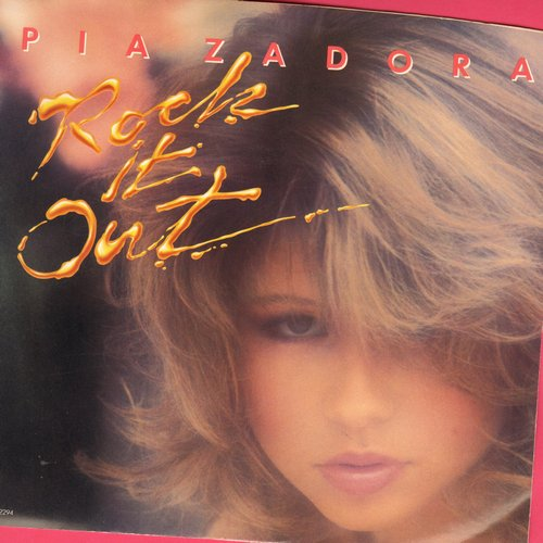 Zadora, Pia - Rock It Out/Give Me Back My Heart (with picture sleeve) - NM9/NM9 - 45 rpm Records