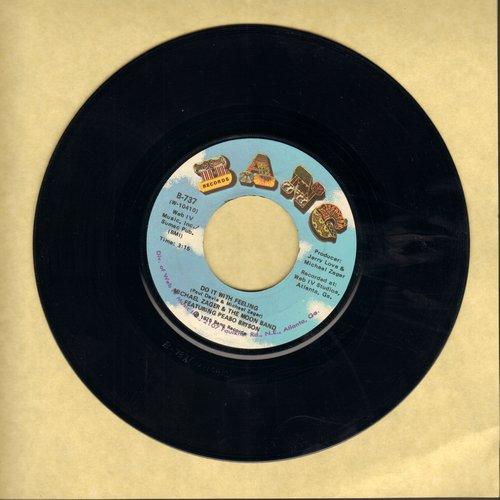 Zager, Michael & The Moon Band Featuring Peabo Bryson - Do It With Feeling/This Is The Life - NM9/ - 45 rpm Records