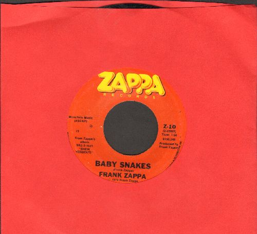 Zappa, Frank & Moon - Baby Snakes/Dancin' Fool - EX8/ - 45 rpm Records