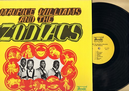 Williams, Maurice & The Zodiacs - The Best Of: Stay, Come Along, Always, So Fine, Little Mama (Vinyl MONO LP record, re-issue of vintage recordings) - M10/NM9 - LP Records