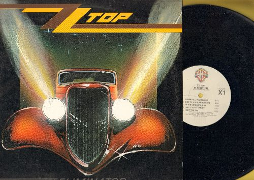 ZZ Top - Eliminator: Sharp Dressed Man, Legs, Bad Girl, Gimme All Your Loving (vinyl LP record) - NM9/EX8 - LP Records